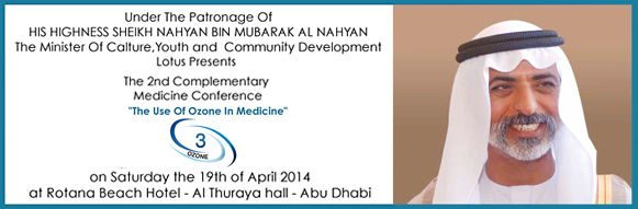 "The 2nd Complementary Medicine Conference "" The Use of Ozone In Medicine"""